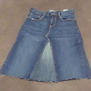 Old Navy Jean Skirt size 10
